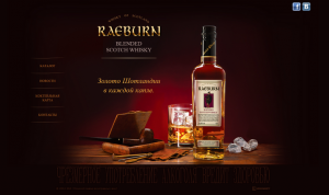 Raeburn blended scotch whisky
